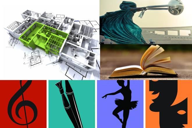 7 môn nghệ thuật là những loại hình nghệ thuật được biểu diễn theo những cách thức khác nhau. Ảnh Internet